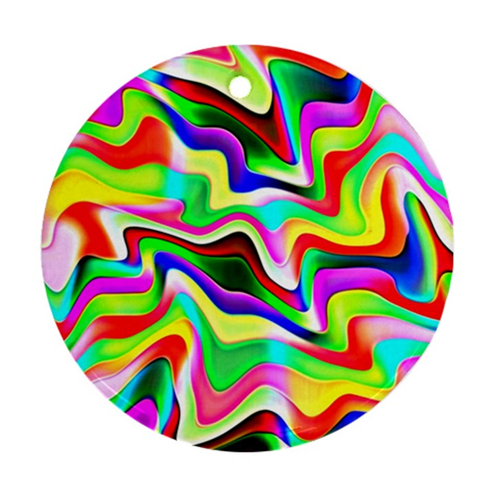 Irritation Colorful Dream Ornament (Round)