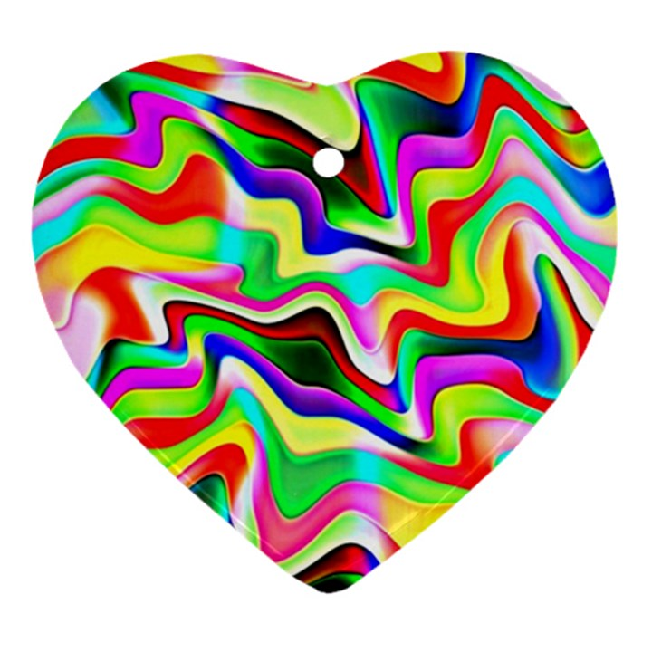 Irritation Colorful Dream Ornament (Heart)