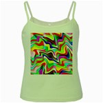 Irritation Colorful Dream Green Spaghetti Tank Front
