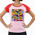 Irritation Colorful Dream Women s Cap Sleeve T-Shirt Front