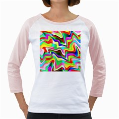 Irritation Colorful Dream Girly Raglans