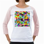 Irritation Colorful Dream Girly Raglans Front