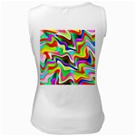 Irritation Colorful Dream Women s White Tank Top Back