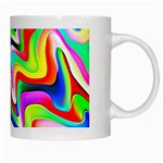 Irritation Colorful Dream White Mugs Right