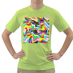 Irritation Colorful Dream Green T Shirt