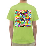 Irritation Colorful Dream Green T-Shirt Back