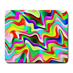 Irritation Colorful Dream Large Mousepads