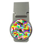 Irritation Colorful Dream Money Clips (Round)  Front