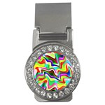 Irritation Colorful Dream Money Clips (CZ)  Front