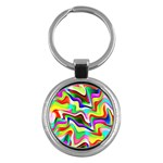 Irritation Colorful Dream Key Chains (Round)  Front