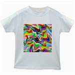 Irritation Colorful Dream Kids White T-Shirts Front