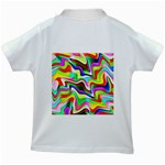 Irritation Colorful Dream Kids White T-Shirts Back