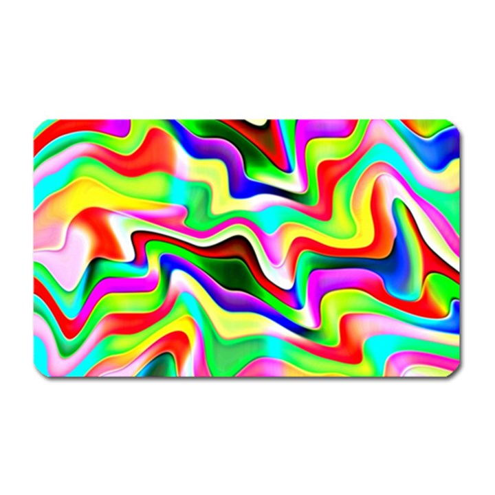 Irritation Colorful Dream Magnet (Rectangular)