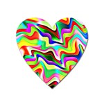 Irritation Colorful Dream Heart Magnet Front