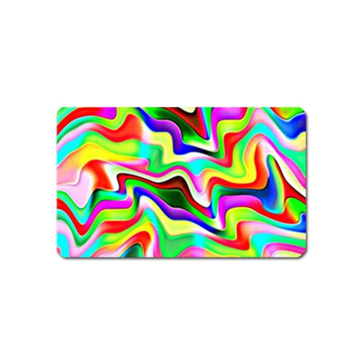 Irritation Colorful Dream Magnet (Name Card)