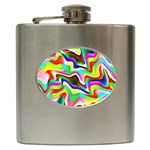 Irritation Colorful Dream Hip Flask (6 oz) Front