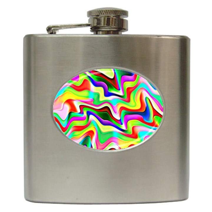 Irritation Colorful Dream Hip Flask (6 oz)