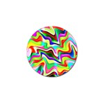 Irritation Colorful Dream Golf Ball Marker (4 pack) Front