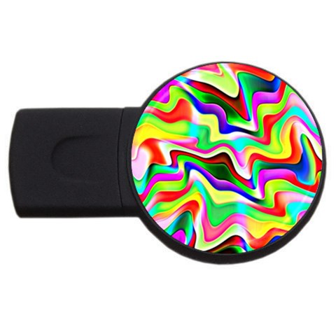 Irritation Colorful Dream USB Flash Drive Round (2 GB)