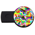 Irritation Colorful Dream USB Flash Drive Round (2 GB)  Front