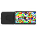 Irritation Colorful Dream USB Flash Drive Rectangular (1 GB)  Front