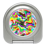 Irritation Colorful Dream Travel Alarm Clocks Front