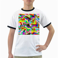 Irritation Colorful Dream Ringer T Shirts