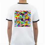 Irritation Colorful Dream Ringer T-Shirts Back
