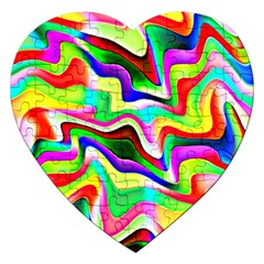 Irritation Colorful Dream Jigsaw Puzzle (heart)
