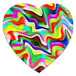 Irritation Colorful Dream Jigsaw Puzzle (Heart) Front