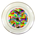Irritation Colorful Dream Porcelain Plates Front