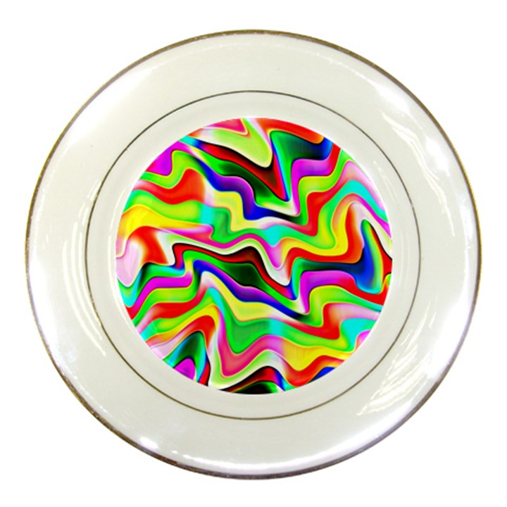 Irritation Colorful Dream Porcelain Plates