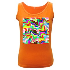 Irritation Colorful Dream Women s Dark Tank Top