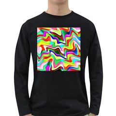 Irritation Colorful Dream Long Sleeve Dark T-Shirts