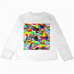 Irritation Colorful Dream Kids Long Sleeve T-Shirts Front