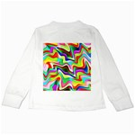 Irritation Colorful Dream Kids Long Sleeve T-Shirts Back