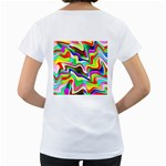 Irritation Colorful Dream Women s Loose-Fit T-Shirt (White) Back