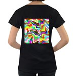 Irritation Colorful Dream Women s Loose-Fit T-Shirt (Black) Back