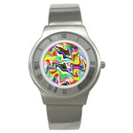 Irritation Colorful Dream Stainless Steel Watch Front