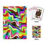 Irritation Colorful Dream Playing Card Back