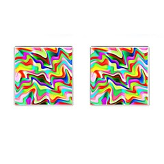 Irritation Colorful Dream Cufflinks (square)