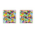 Irritation Colorful Dream Cufflinks (Square) Front