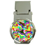 Irritation Colorful Dream Money Clip Watches Front