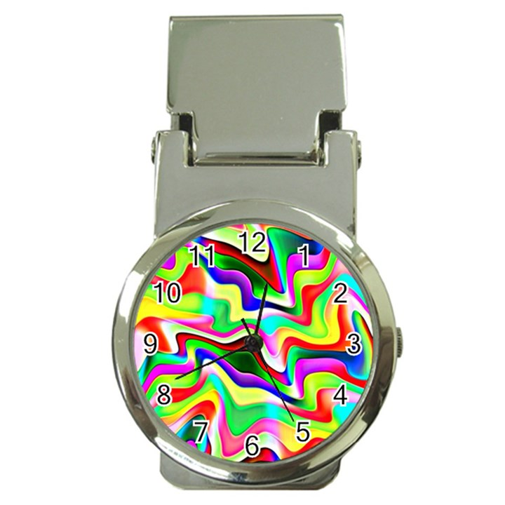Irritation Colorful Dream Money Clip Watches
