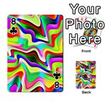 Irritation Colorful Dream Playing Cards 54 Designs  Front - Club8