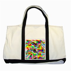 Irritation Colorful Dream Two Tone Tote Bag