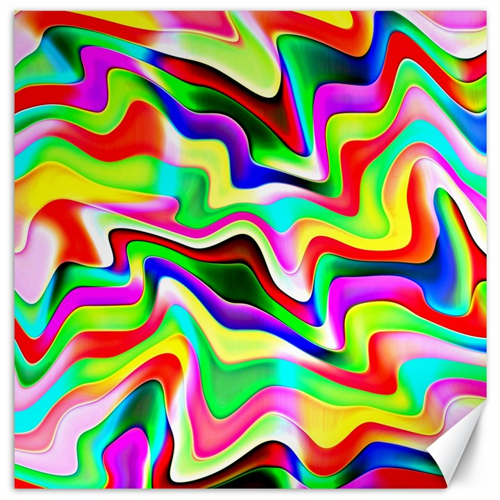 Irritation Colorful Dream Canvas 16  x 16