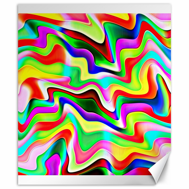 Irritation Colorful Dream Canvas 20  x 24