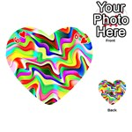 Irritation Colorful Dream Playing Cards 54 (Heart)  Front - Heart6