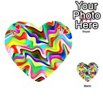 Irritation Colorful Dream Playing Cards 54 (Heart)  Front - HeartA